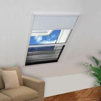 Raamhor voor dakramen met zonnescherm pliss 160x80 cm