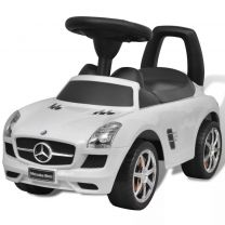 Loopauto Mercedes Benz wit