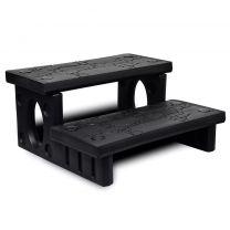 Spa trap (zwart)