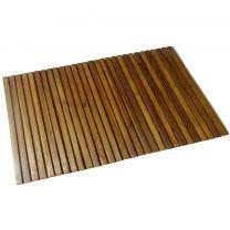 Badmat acaciahout 80 x 50 cm