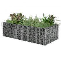 Gabion plantenbak 180x90x50 cm