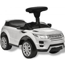 Loopauto Land Rover 348 met muziek wit