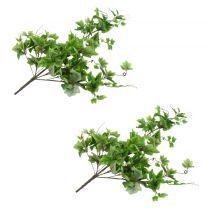 Kunstbladeren druif 2 st 90 cm groen