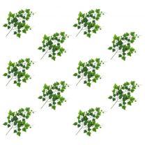 Kunstbladeren druif 10 st 70 cm groen