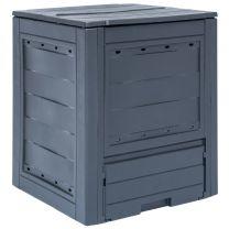 Compostbak 260 L 60x60x73cm grijs