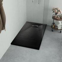 Douchebak 100x70 cm SMC zwart