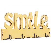 Wandkapstok SMILE 50x23 cm