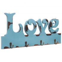 Wandkapstok LOVE 50x23 cm