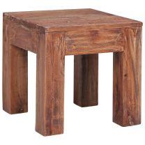 Salontafel 30x30x30 cm massief gerecycled hout