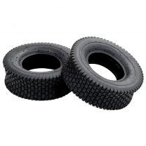 Kruiwagenbanden 2 st 13x5.00-6 4PR rubber
