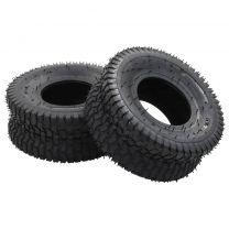 Kruiwagenbanden 2 st 15x6.00-6 4PR rubber