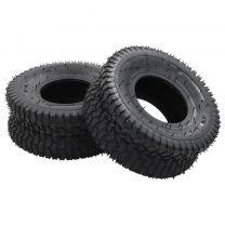 4-delige Kruiwagenband- en binnenbandset 15x6.00-6 4PR rubber