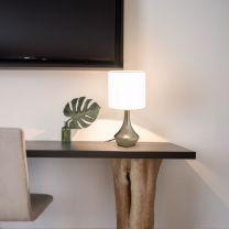 Tafellampen 2 st met aanraakknop E14 wit