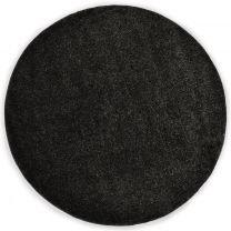 Vloerkleed shaggy hoogpolig 67 cm antraciet
