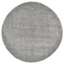 Vloerkleed shaggy hoogpolig 67 cm grijs