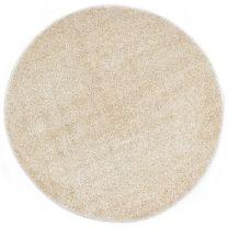 Vloerkleed shaggy hoogpolig 67 cm beige