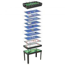 Multispeeltafel 15-in-1 121x61x82 cm zwart