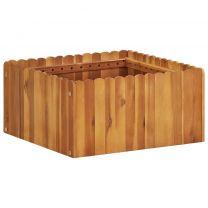 Plantenbak 50x50x25 cm massief acaciahout