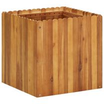 Plantenbak 50x50x50 cm massief acaciahout