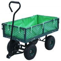 Tuinwagen 250 kg groen
