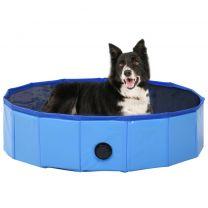 Hondenzwembad inklapbaar 80x20 cm PVC blauw