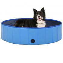 Hondenzwembad inklapbaar 120x30 cm PVC rood