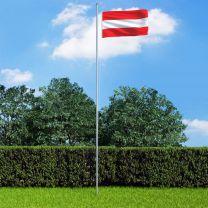 Vlag Oostenrijk 90x150 cm