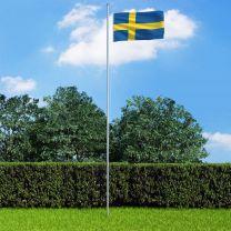 Vlag Zweden 90x150 cm