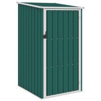 Tuinschuur 87x98x159 cm gegalvaniseerd staal groen