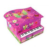 Fairies Sierraden Muziekdoosje Piano met Elfje