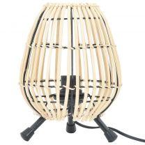 Tafellamp 60 W E27 20x27 cm wilgen