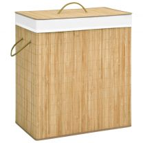 Wasmand 100 L bamboe