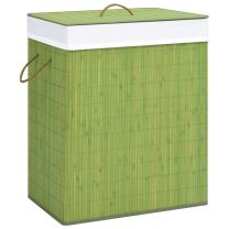 Wasmand 100 L bamboe groen