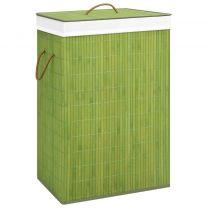 Wasmand bamboe groen