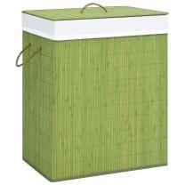 Wasmand 83 L bamboe groen