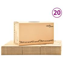 Verhuisdozen 20 st XXL 60x33x34 cm karton