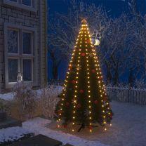Kerstboom netverlichting met 250 LED's IP44 250 cm