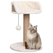 Kattenboom met krabpaal 49 cm zeegras