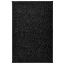 Deurmat wasbaar 60x90 cm zwart