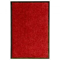 Deurmat wasbaar 40x60 cm rood