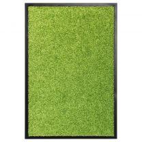 Deurmat wasbaar 40x60 cm groen