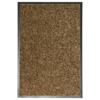 Deurmat wasbaar 40x60 cm bruin