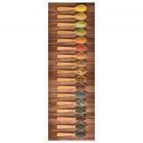Keukenvloermat wasbaar Spoon 45x150 cm