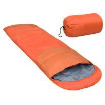 Slaapzak lichtgewicht 15  850 g oranje