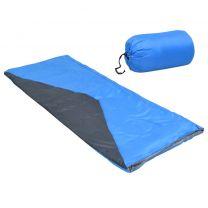 Slaapzak envelop lichtgewicht 10  1100 g blauw