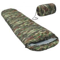 Kinderslaapzak mummie lichtgewicht 10  670 g camouflage