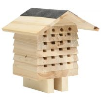 Bijenhotel 22x20x20 cm vurenhout