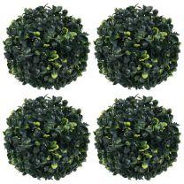 Kunstbuxusbollen 4 st 12 cm