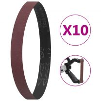 Schuurbanden 10 st P100 40x760 mm