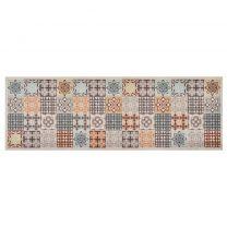 Keukenmat wasbaar Mosaic Colour 60x180 cm